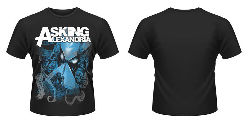New-Official-Asking-Alexandria-Hourglass-NEW-T-Shirt
