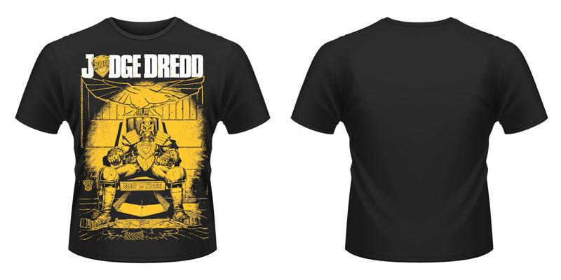 New Official Judge Dredd - Chief NEW T-Shirt
