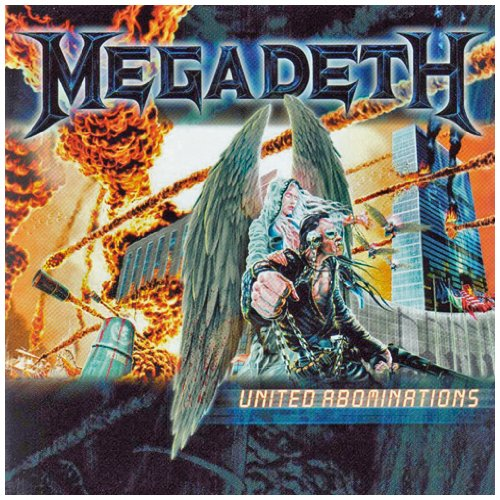 Megadeth - United Abominations NEW CD Enlarged Preview