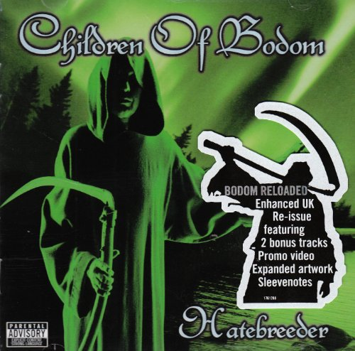 Children Of Bodom - Hatebreeder NEW CD Enlarged Preview