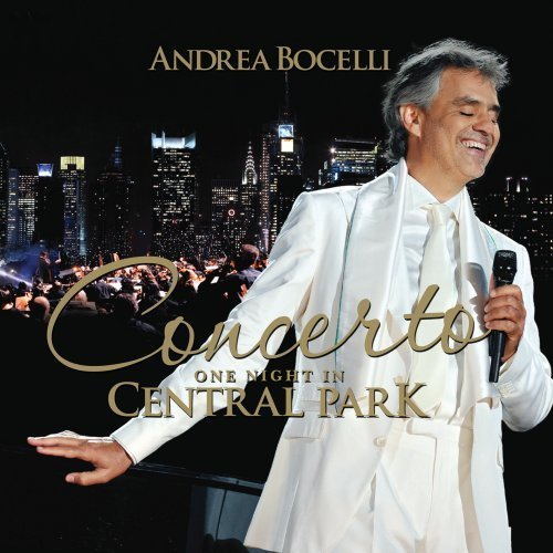 Andrea Bocelli - Concerto: One Night In Central Park NEW CD + DVD SET Enlarged Preview