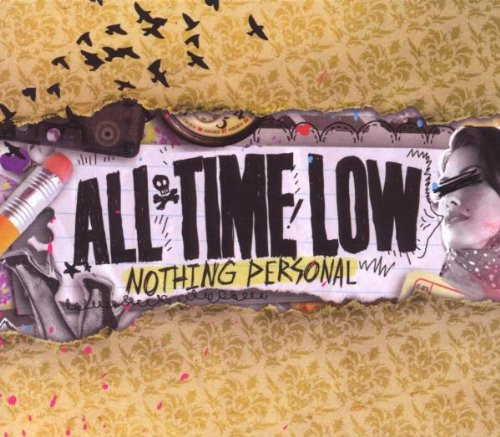 All Time Low - Nothing Personal NEW CD Enlarged Preview