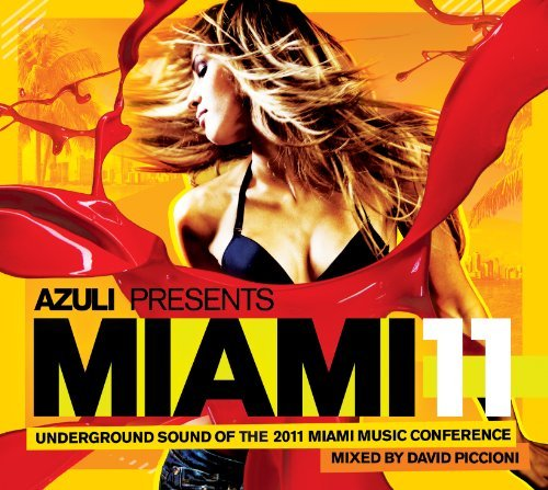 Various - Azuli Presents Miami '11 NEW 2 x CD Enlarged Preview