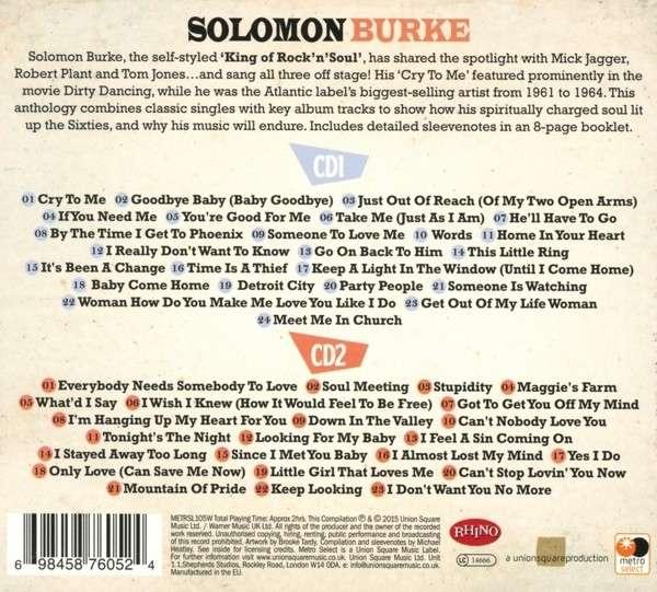 Solomon Burke The Very Best Of New Cd Ebay
