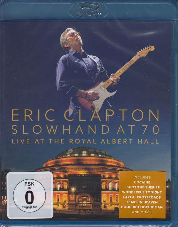 eric clapton slowhand at 70 live at the royal albert hall new blu ray ebay. Black Bedroom Furniture Sets. Home Design Ideas