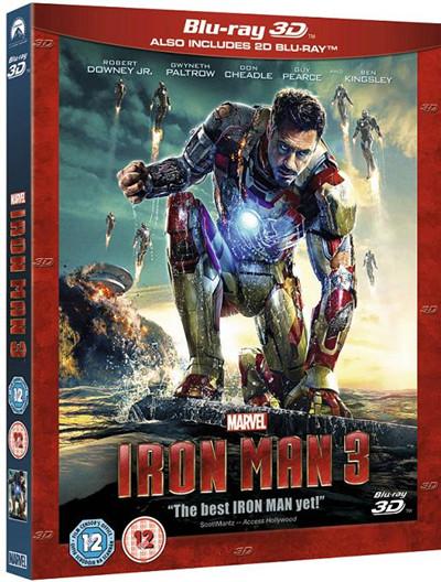 Iron Man 3 New Blu Ray Buy0206501 Ebay
