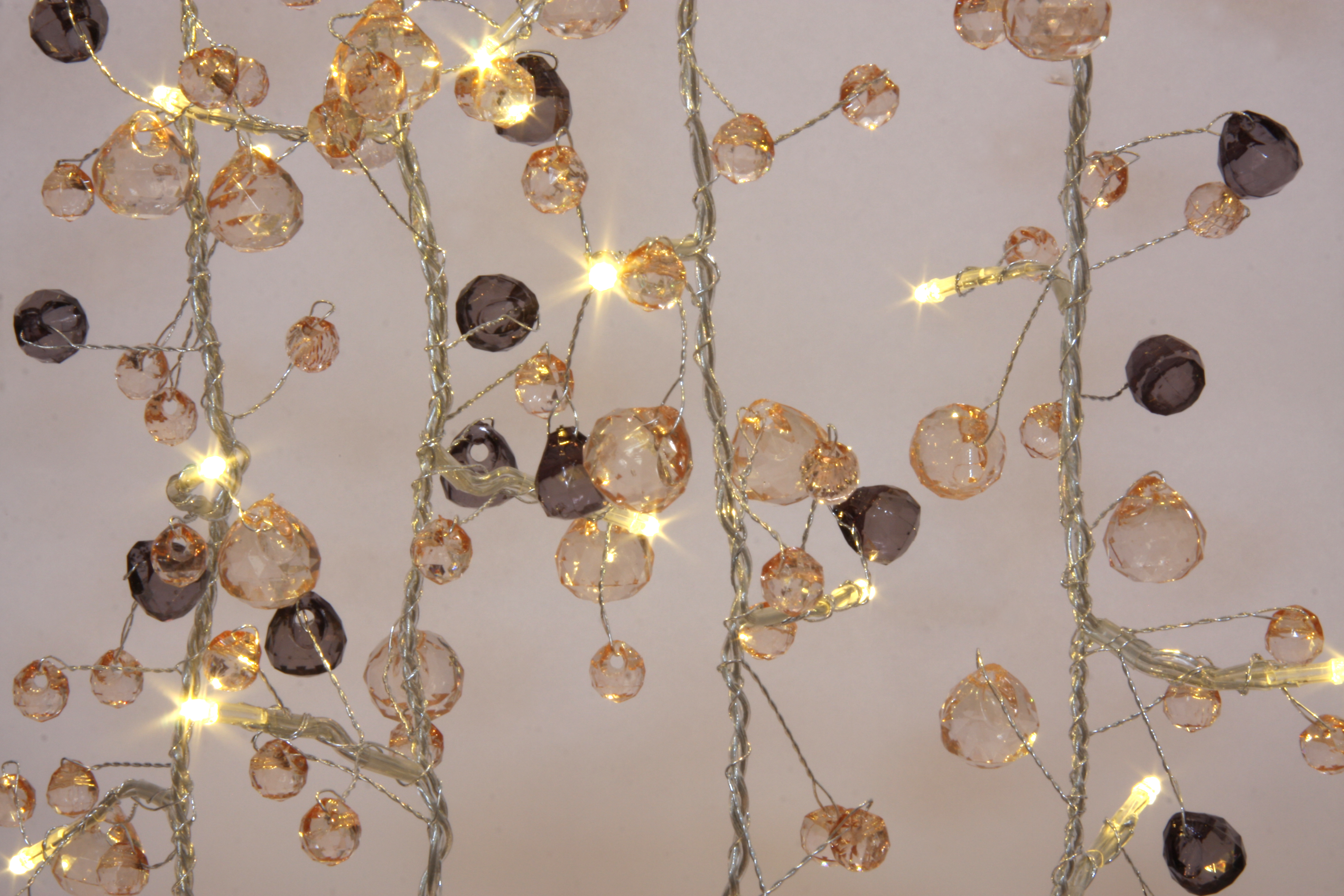 Fairy Lights - Coco Chic - 50 LED String Lights - Mains Powered - ThinkGadgets eBay