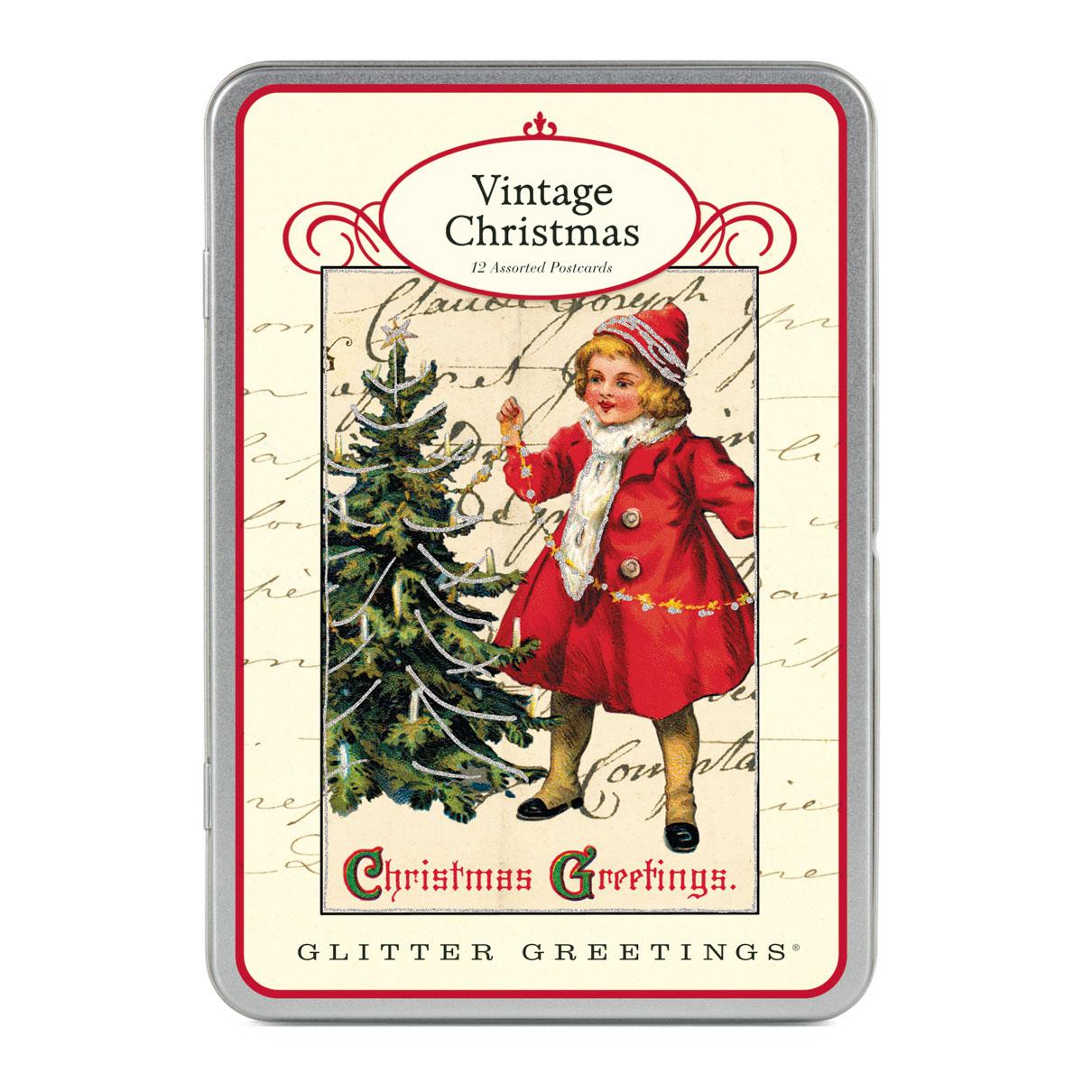 Paillettes de Noël vintage