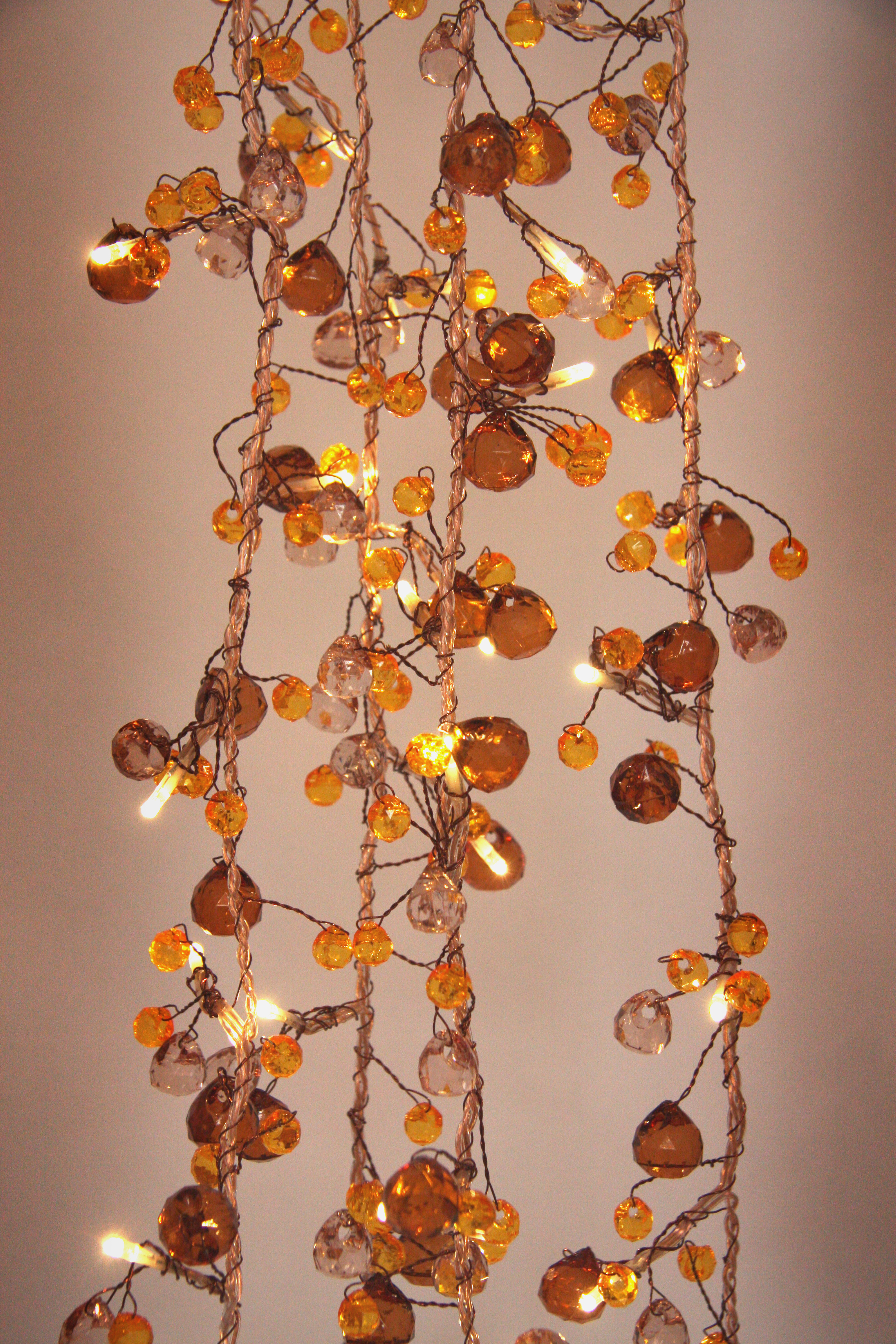 String Lights Mains Operated : Fairy Lights - Antique Chic - 50 LED String Lights - Mains Powered - ThinkGadget