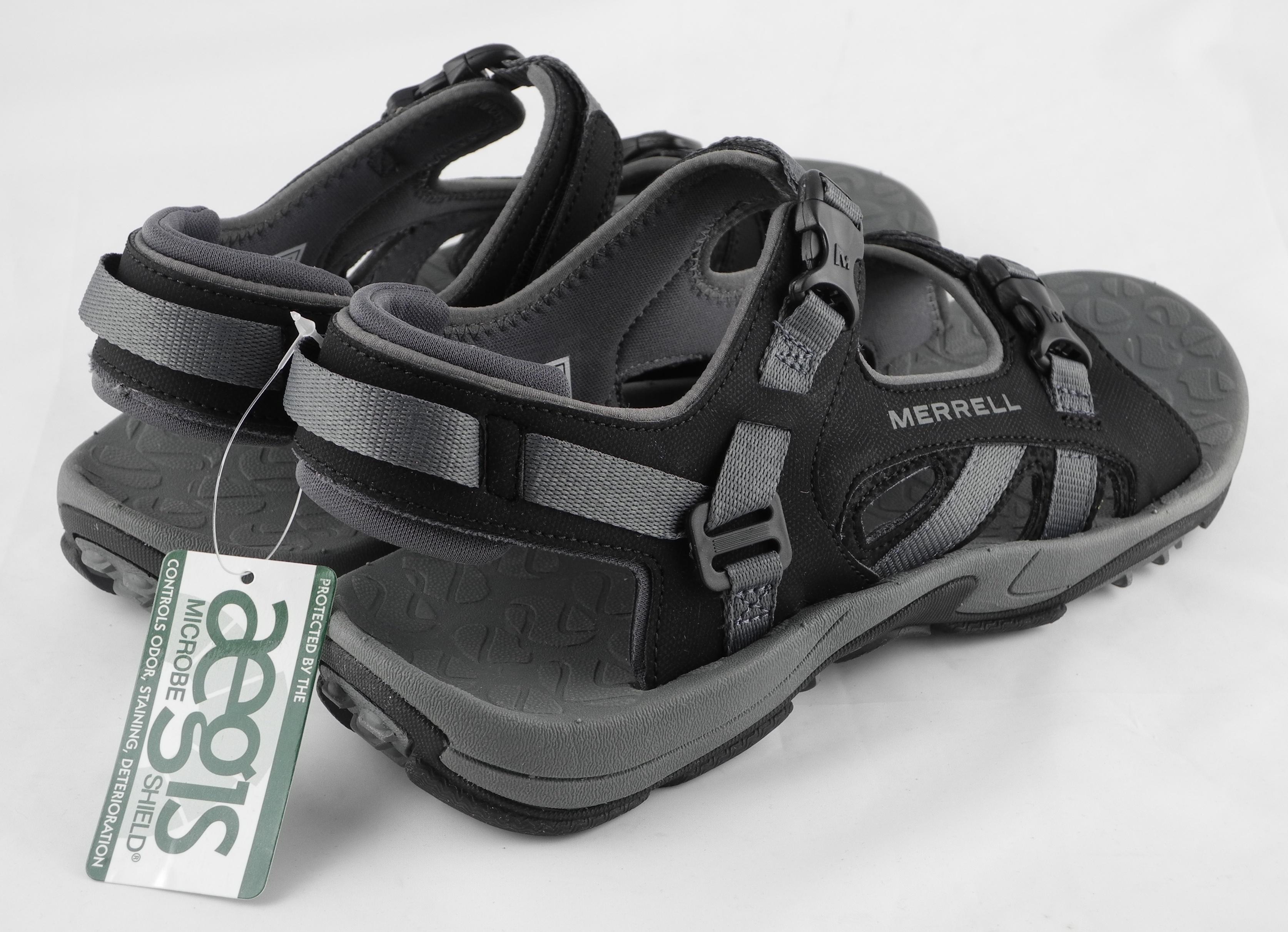 Black merrell sandals - Thumbnail 1 Thumbnail 2 Thumbnail 3 Thumbnail 4