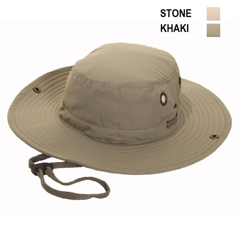 Mens Lightweight Aussie Bush Australian Style Sun Hat SECRET POCKET ... 51d91325ecd0