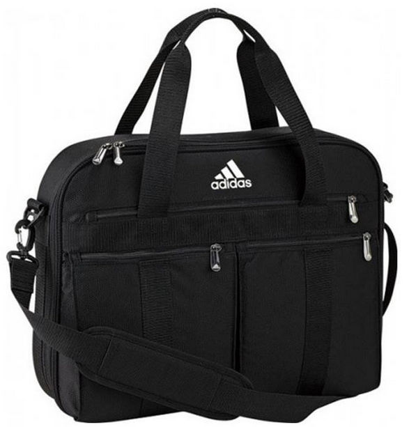 Mens ADIDAS Team Travel Laptop Travel Bag Briefcase ...
