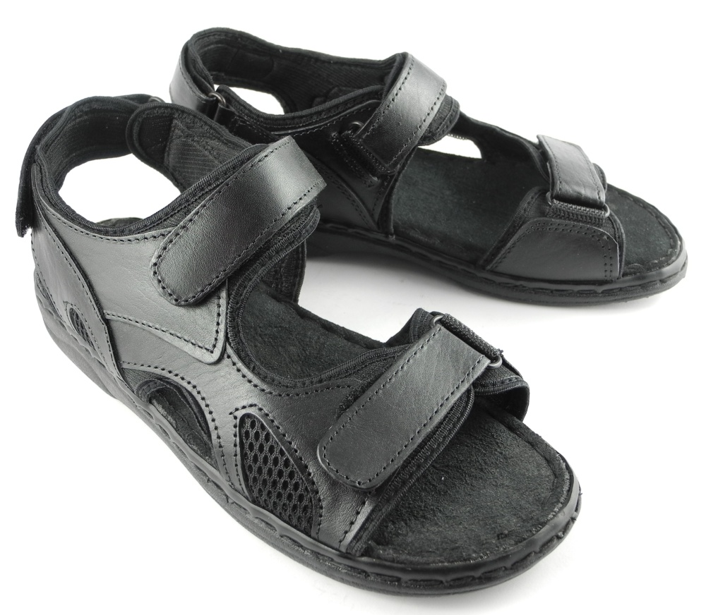 Black jesus sandals - Thumbnail 1 Thumbnail 2 Thumbnail 3