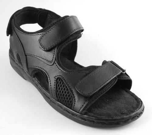 Jesus Sandals: Black Jesus Sandals Size 8