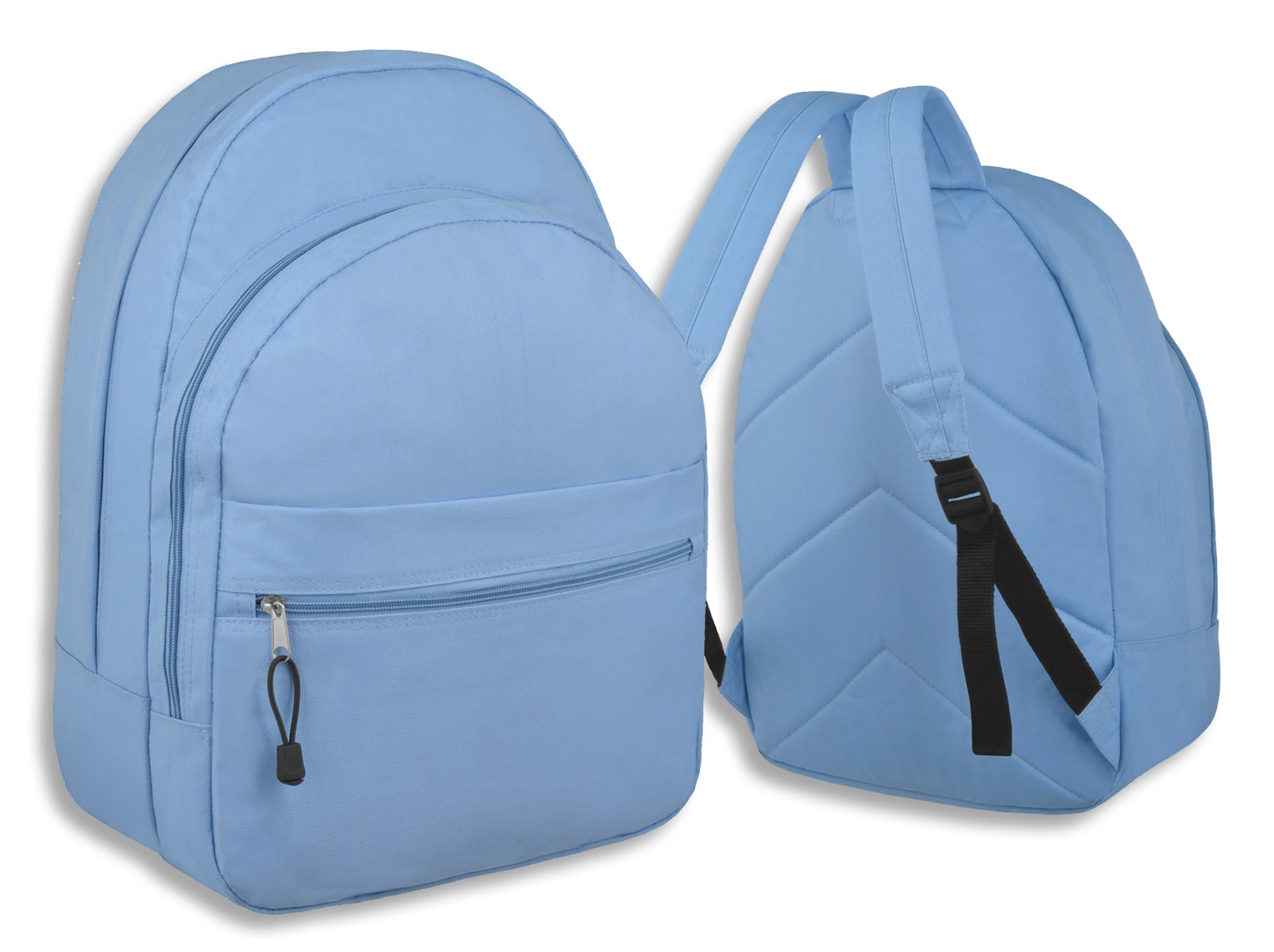 Small-Rucksack-Backpack-Back-Pack-School-Bag-GREY-or-LIGHT-BLUE