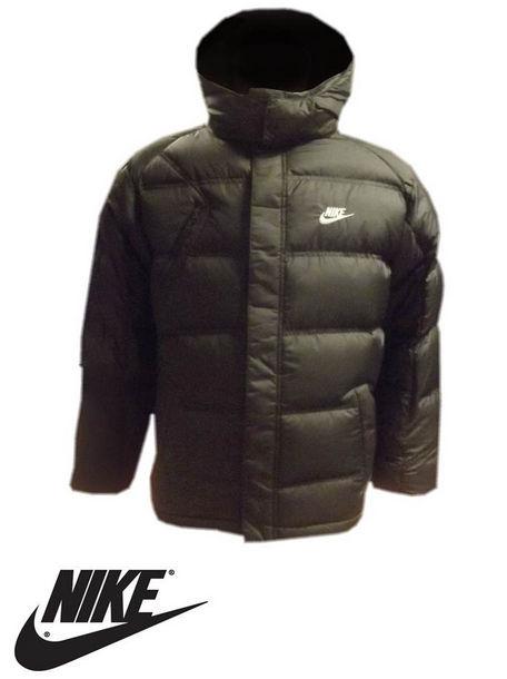 Boys NIKE Duck Down Feather Puffa Winter Warm Jacket Black Age 12 ...