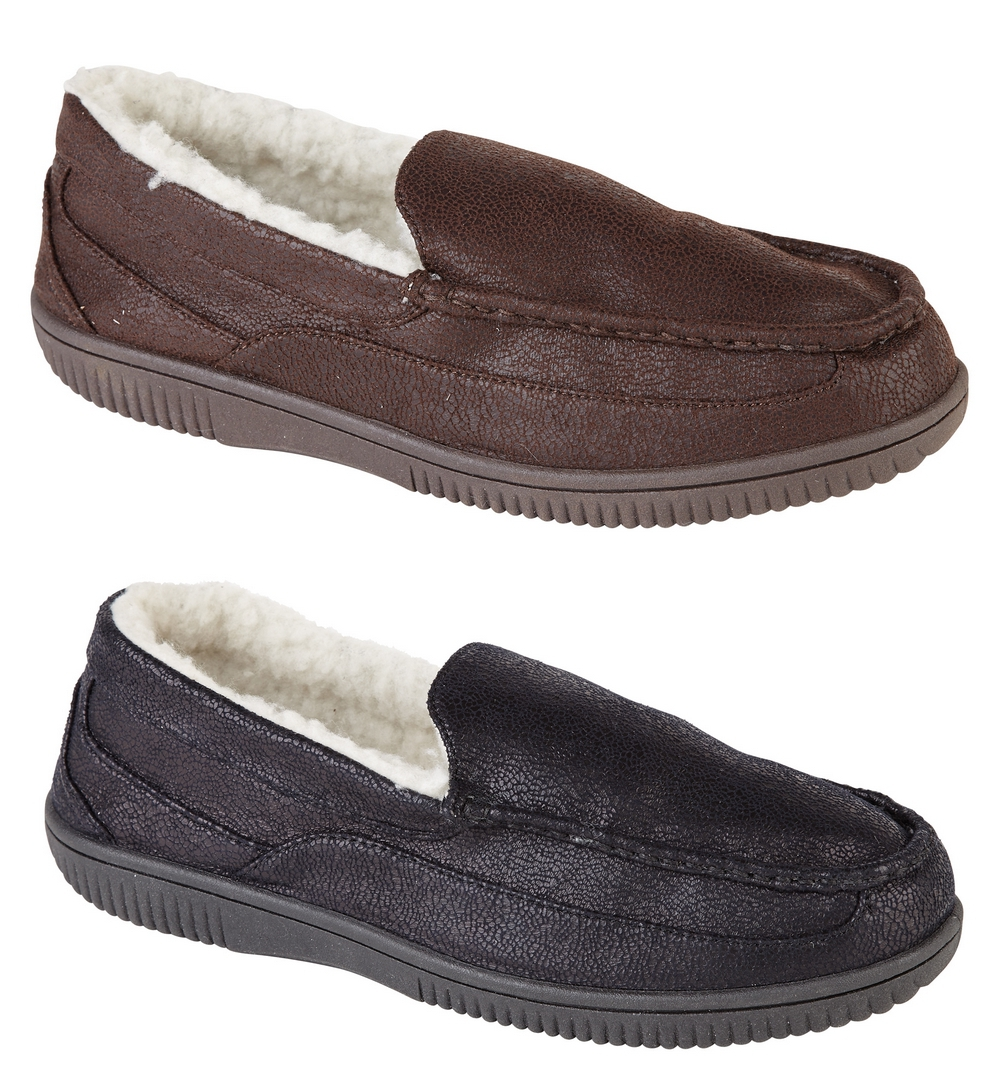 Find great deals on eBay for mens lined leather slippers. Shop with confidence.