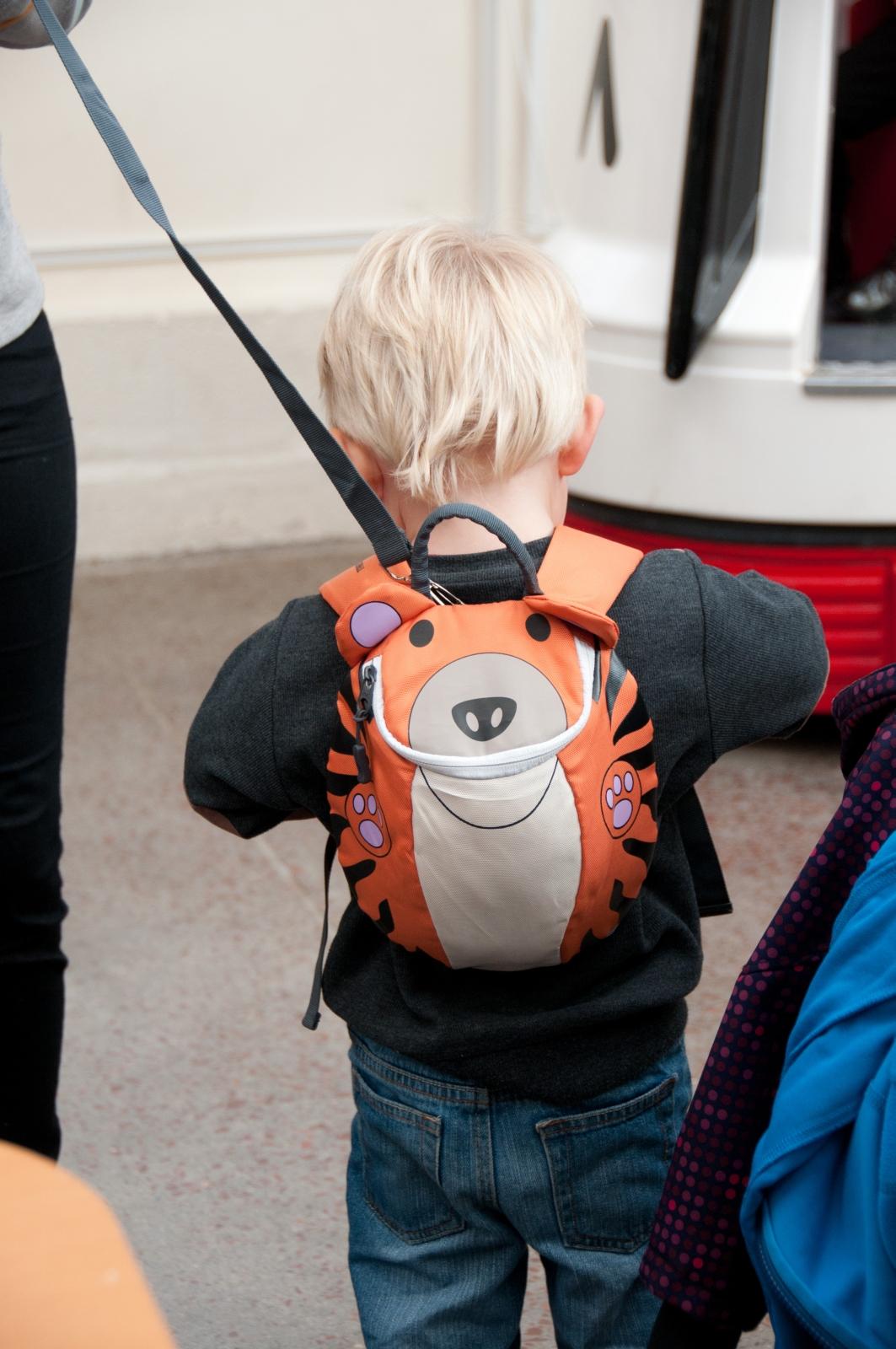 kids toddlers childs trespass saber tiger rucksack. Black Bedroom Furniture Sets. Home Design Ideas