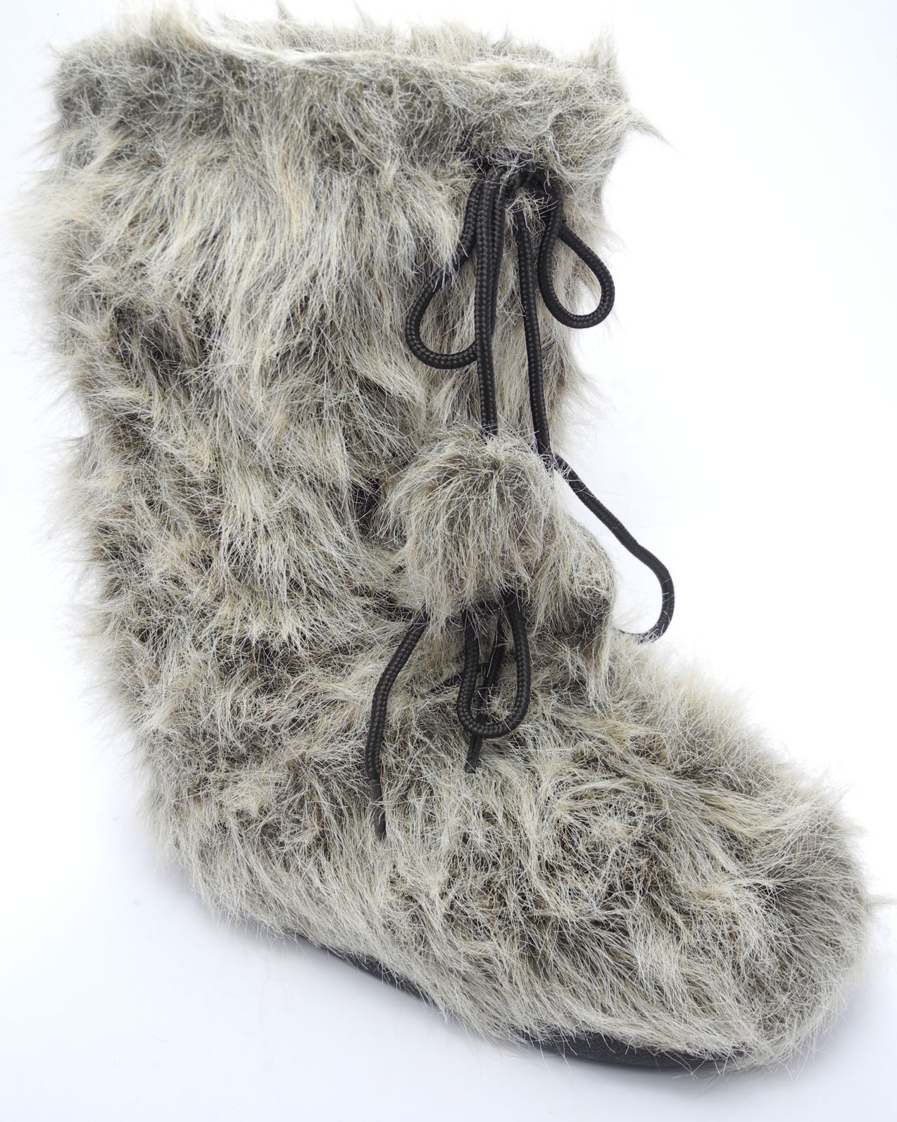 Mens Faux Fur Yeti Yetti Sasquatch Abominable Snowman Moon Boots ...