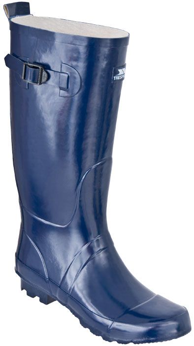 mens trespass raft navy blue wellies wellington boots size