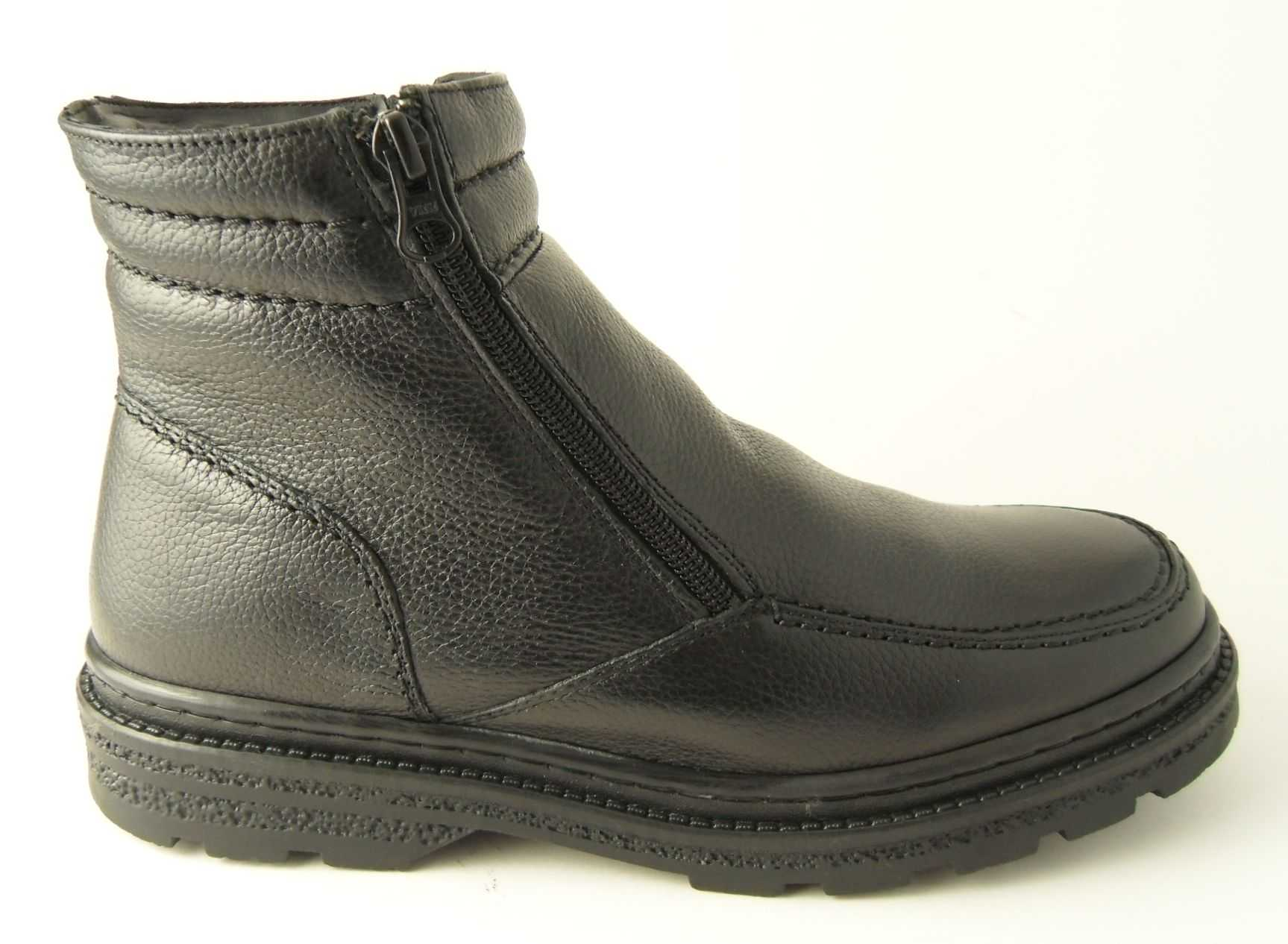 Mens Fleece Lined Boots Shoes