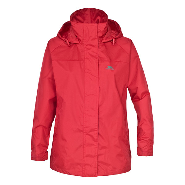 Ladies-3-in-1-Trespass-Waterproof-Jacket-Detachable-Fleece-BLACK-RED-Size-10-20