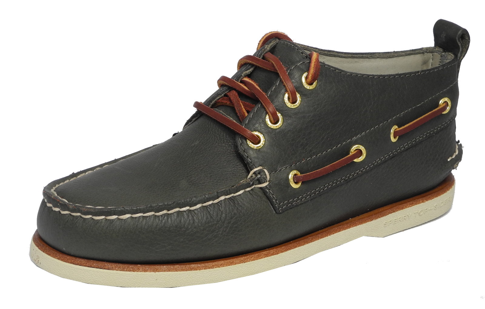 Mens Sperry Top-Sider Memory Foam Boat Deck Chukka Shoes Grey SIZE ...