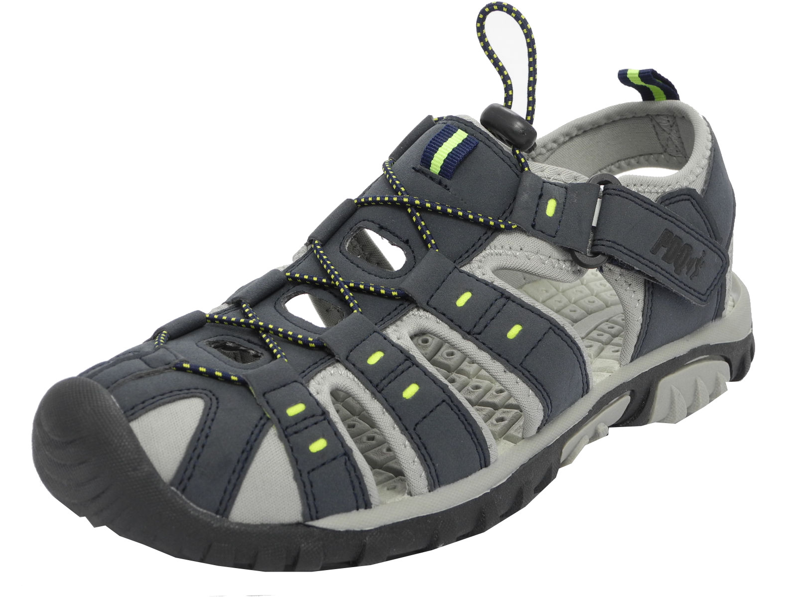 Mens Boys Pdq Sports Hiking Closed Toe Trail Sandals Size