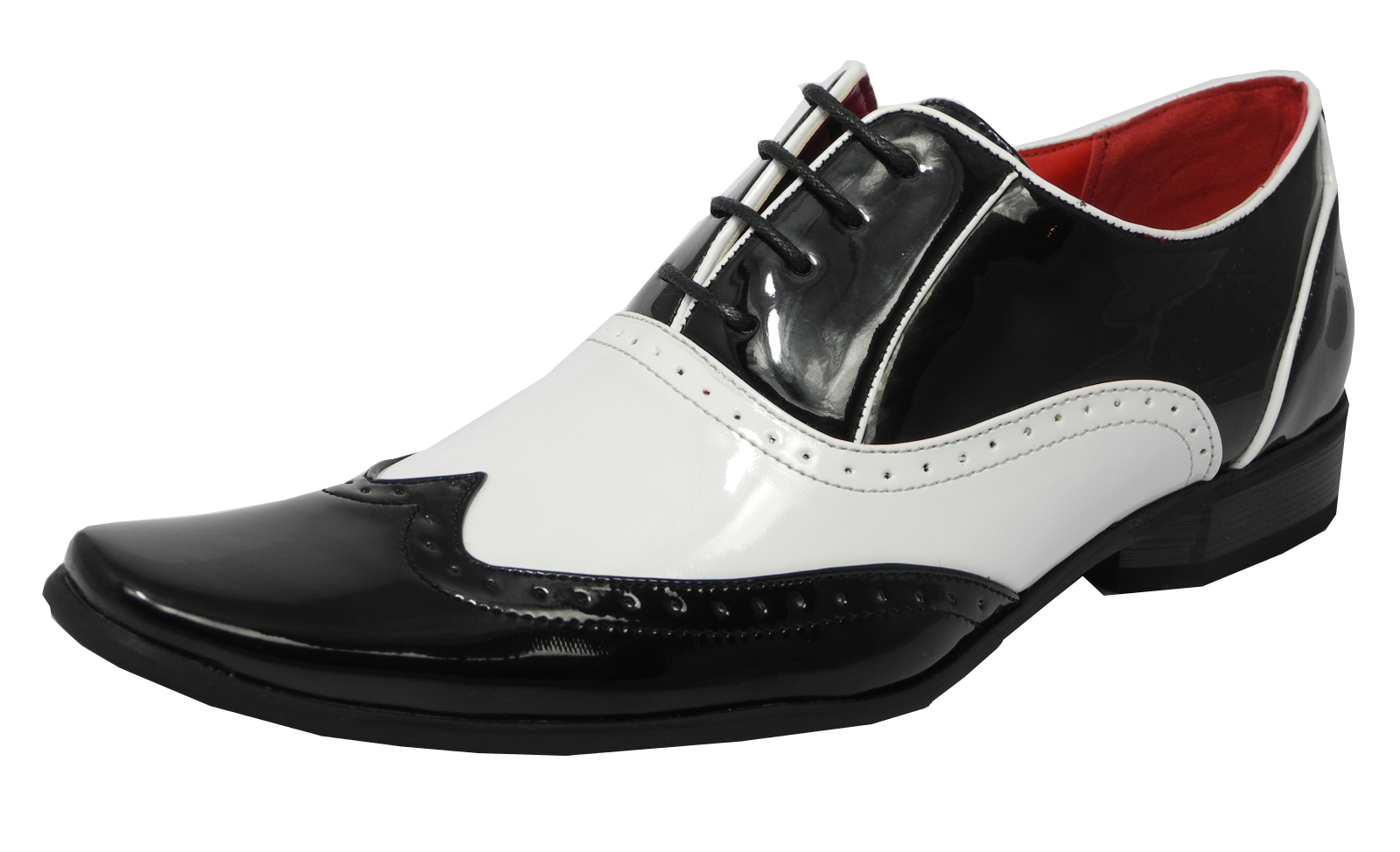 White Gatsby Mens Shoes