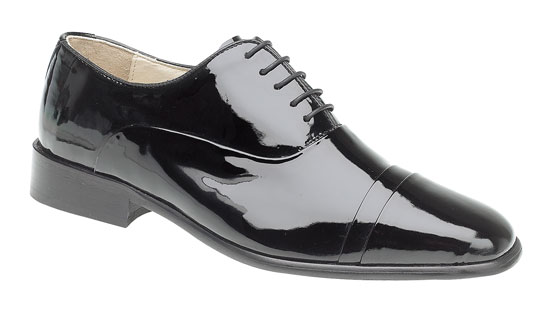 Mens MONTECATINI Patent Leather Formal Dress Shiny Dinner Suit Shoes