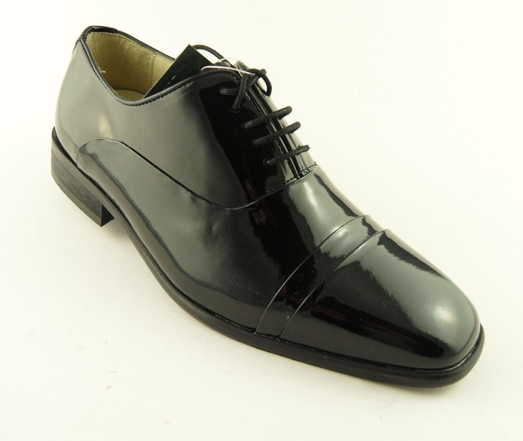 Mens Patent Dinner Shoes