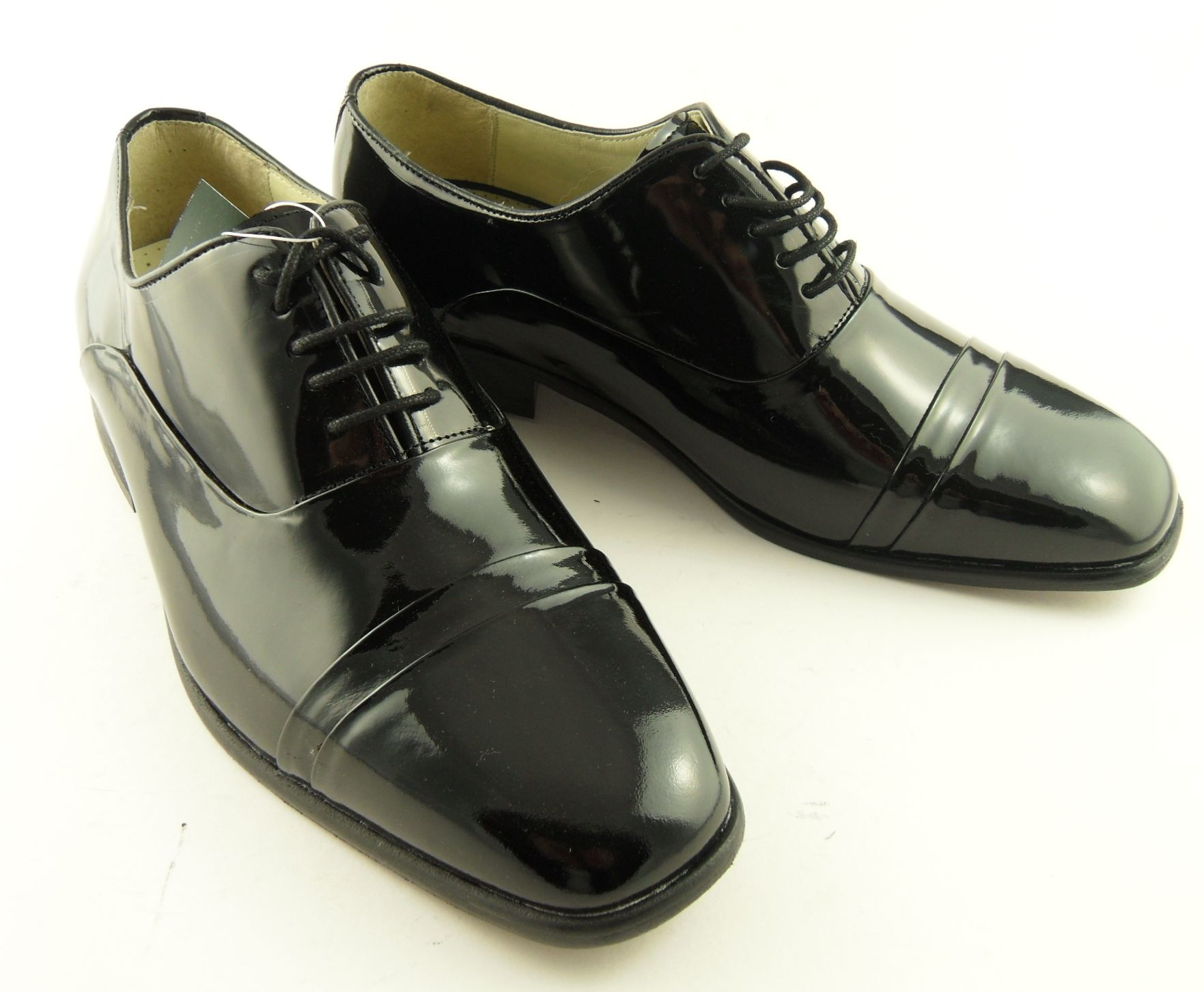 Details about Mens MONTECATINI Patent Leather Dress Shiny Shoes 7-12