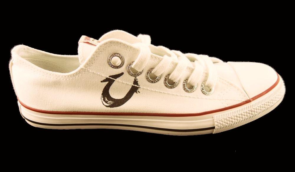 mens true religion trainers pumps deck shoes white 912 ebay
