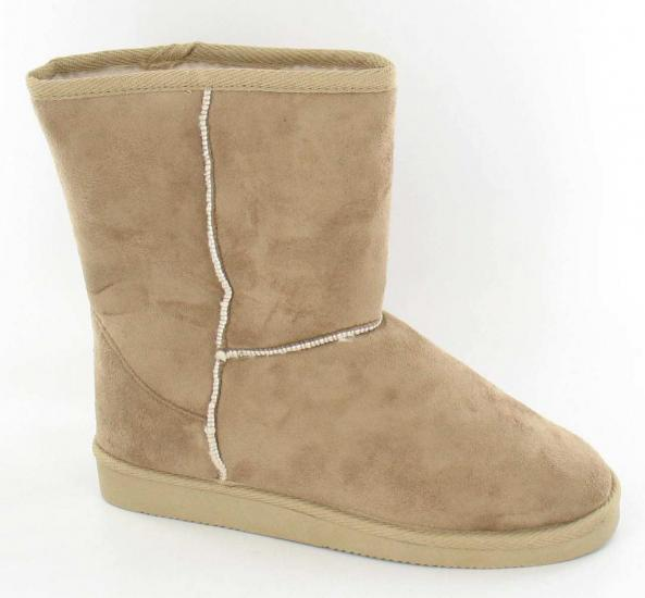 mens faux sheepskin micro suede boots slippers 7 12 ebay