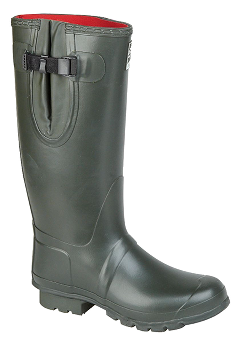 New Style Mens Womens Woodland Wide Regular or Short Thermal Neoprene Wellies Wellington Boots