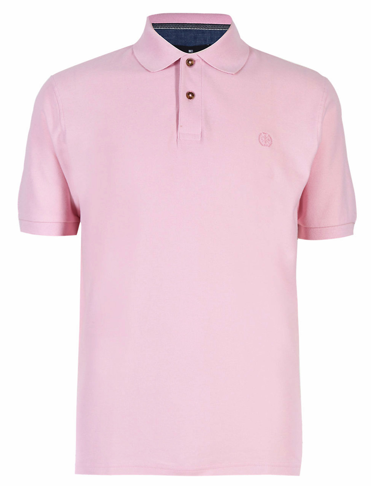 Mens M&S Marks and Spencer Short Sleeve Blue Harbour Polo T Shirt ...