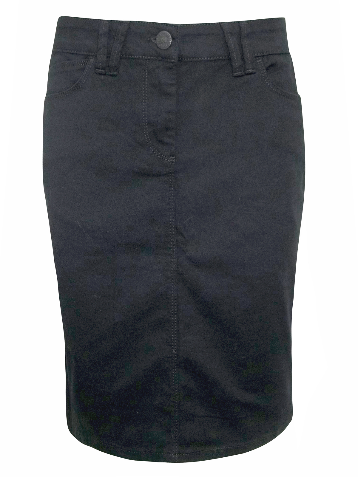 marks and spencer m s black stretch denim pencil