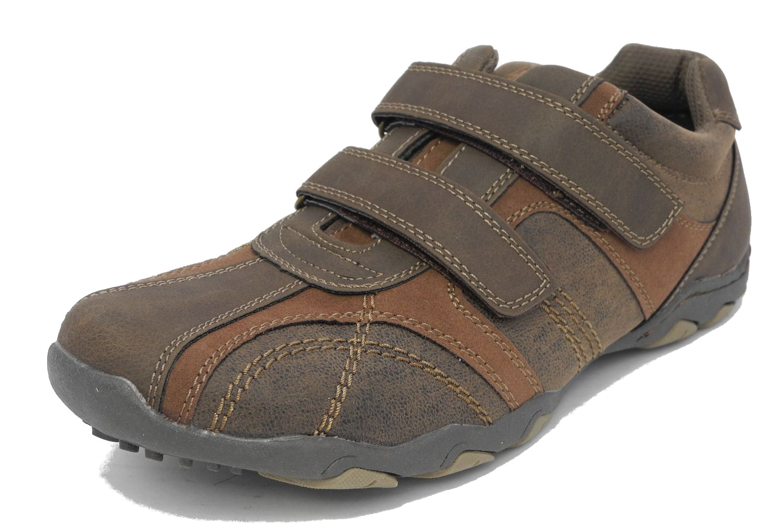 Mens Velcro Strap Casual Shoes