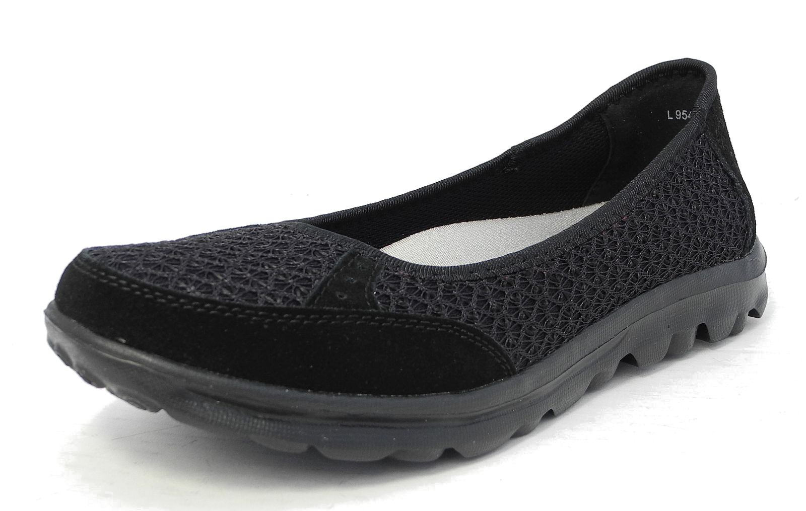 Black Flat Work Shoes H And M