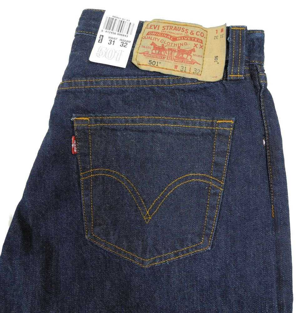 new mens indigo blue levi strauss 501 original straight leg levis jeans various ebay. Black Bedroom Furniture Sets. Home Design Ideas