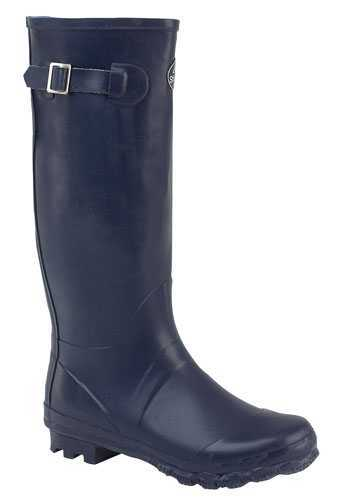 Ladies Womens Navy Blue Stormwells Wellies Wellington Boots Sizes 3-8 Enlarged Preview