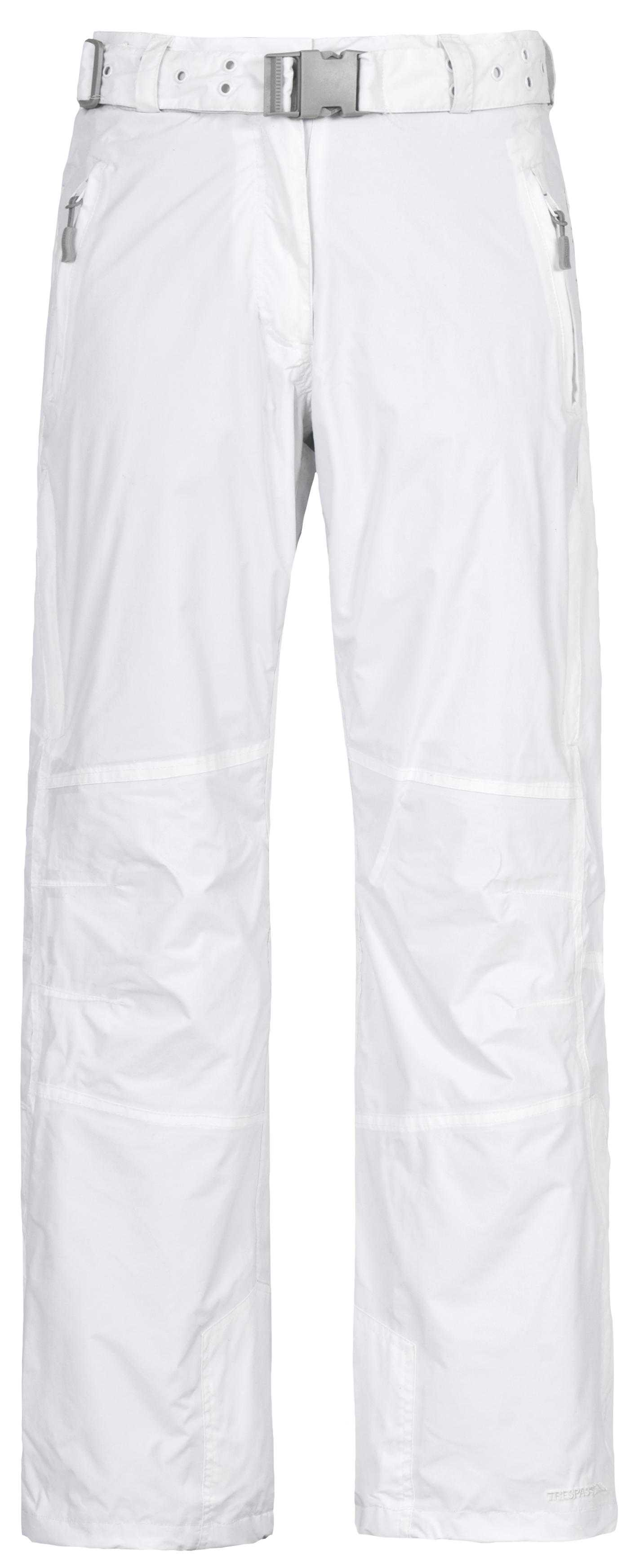Ladies Womens TRESPASS FUSE Waterproof Ski Pants Trousers WHITE SIZE 18 XXL Enlarged Preview
