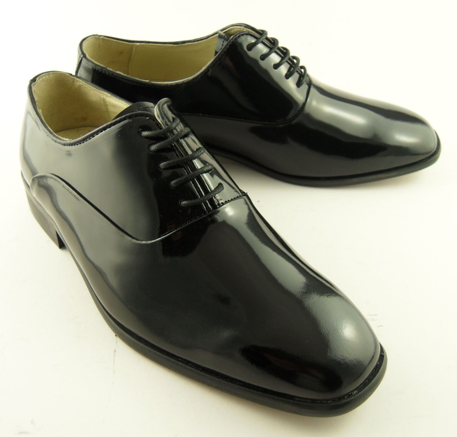 mens montecatini patent leather dress shiny shoes 7 12 ebay