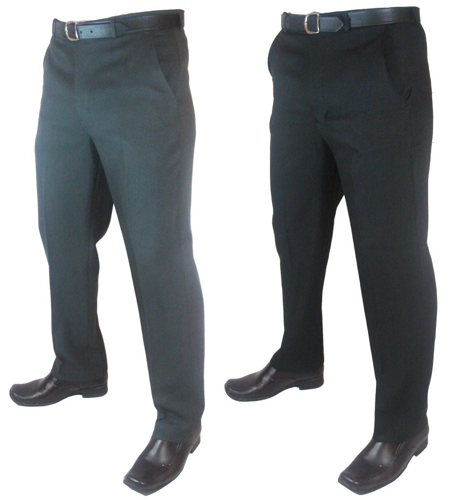 A big range of big size pure wool and wool blend trousers in fashionable styles. Tailored for the big and tall man. Search online for the perfect fit.
