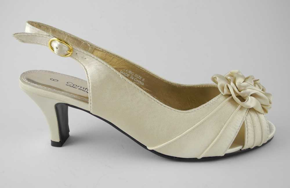 Wide Width Wedding Shoes Wedges