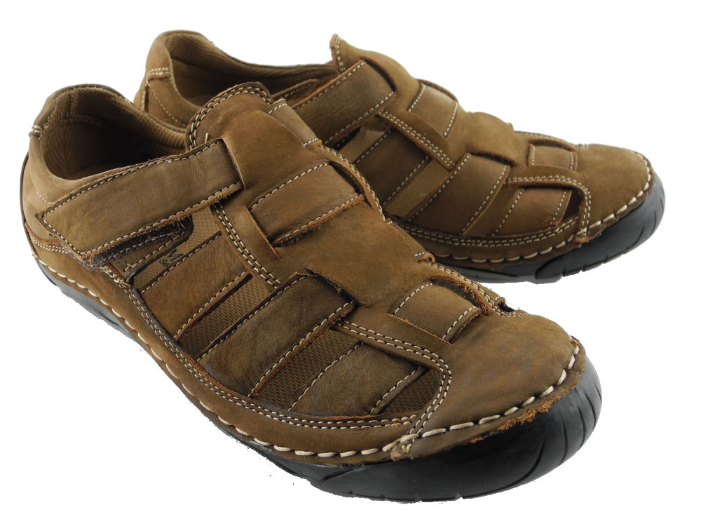 Clarks Mens Nubuck Shoes