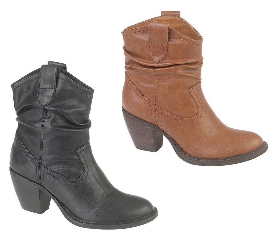 Western Ankle Boots - Cr Boot