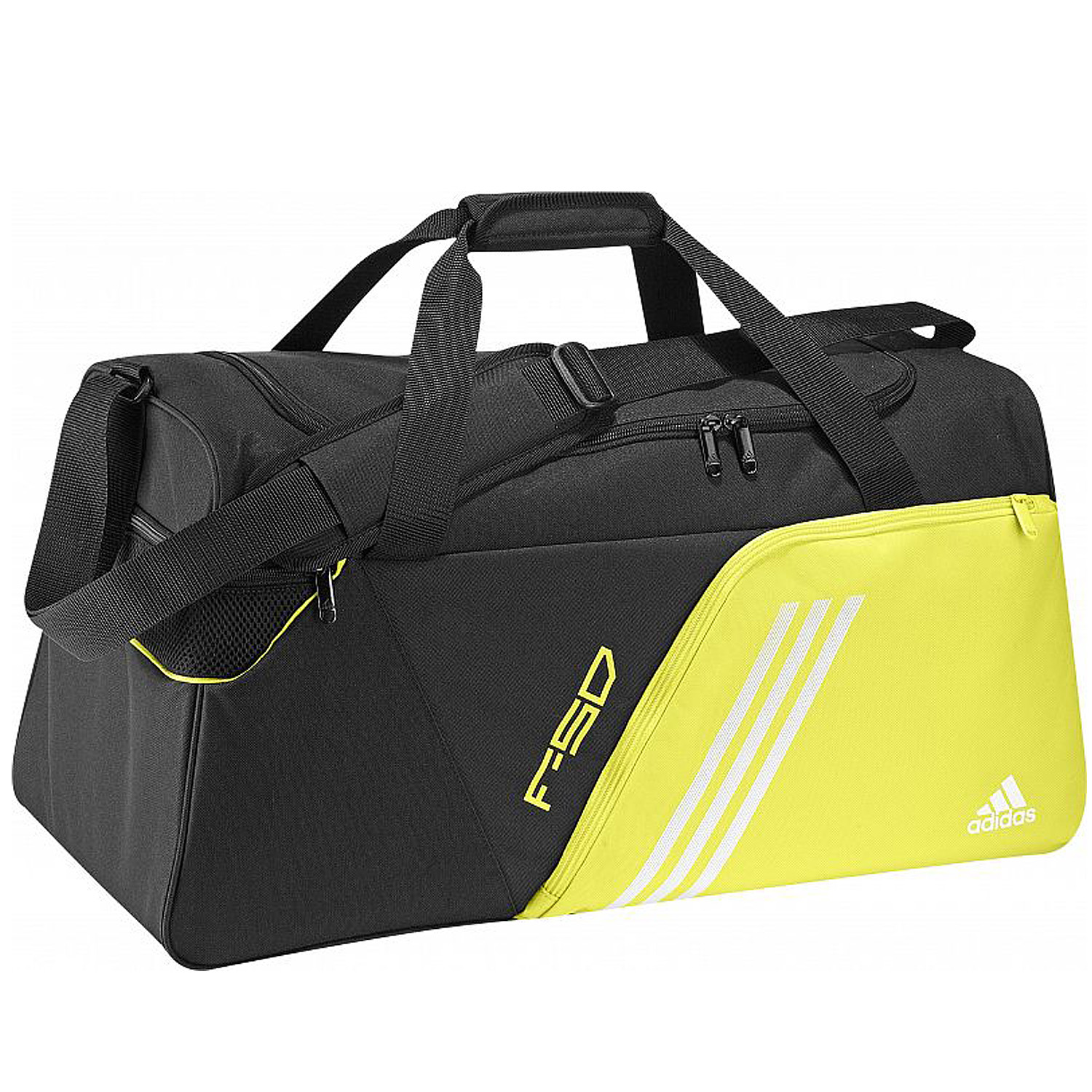 mens adidas f50 large sports holdall team kit gym travel. Black Bedroom Furniture Sets. Home Design Ideas