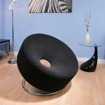 View Item AG Studios BLACK Polo Chair / Sofa / Seat DesignerW568