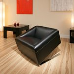 View Item AG Studios Cube Black Chair / Sofa / Seat Designer